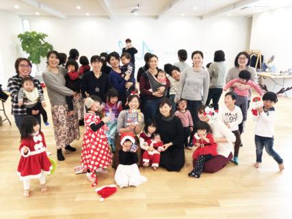 クリスマスレッスン&パーティー!ママが楽しむ英語歌レッスン