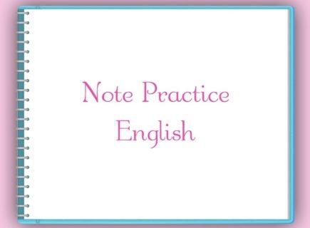 「私は英語を話せます」と、今度こそ胸を張って言えるように!新レッスン「ノート・プラクティス」予告